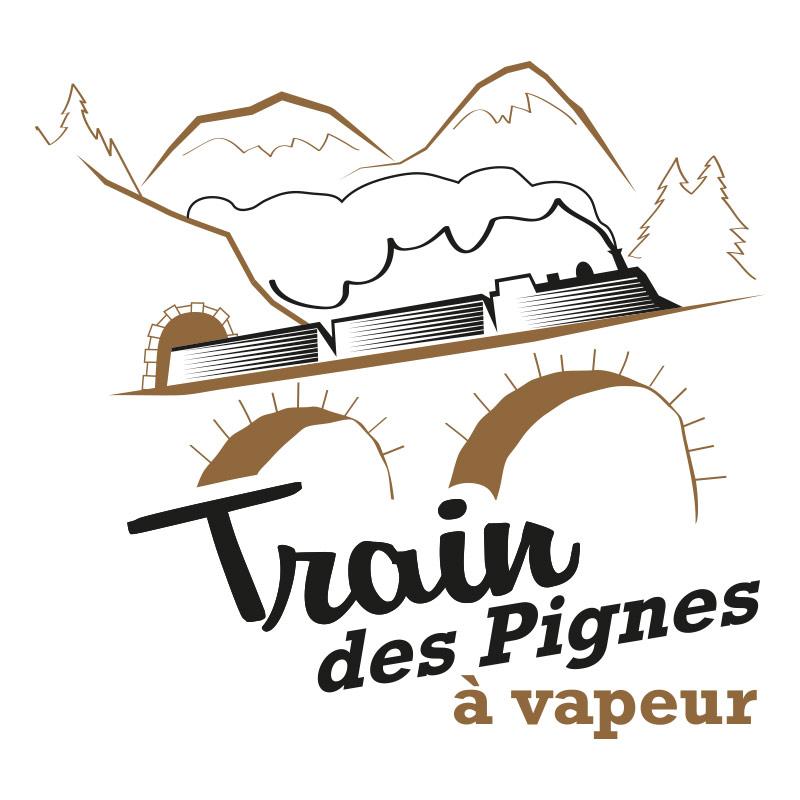 Logo Train des Pignes à Vapeur