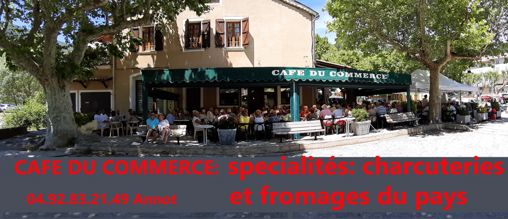 Encart café du commerce